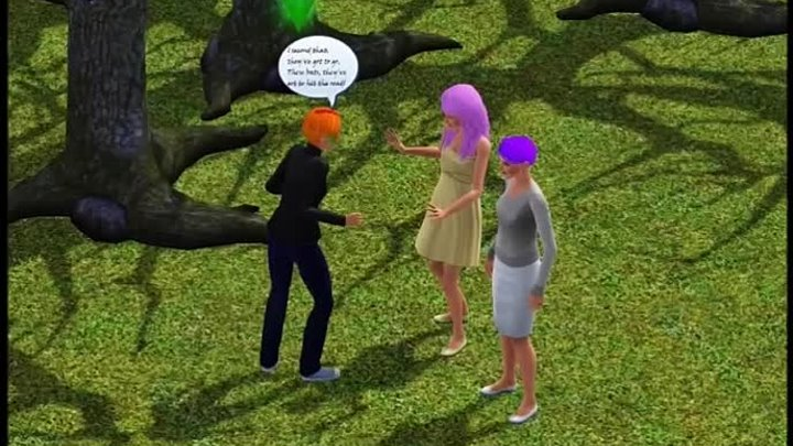 Stop the bats. Sims-version