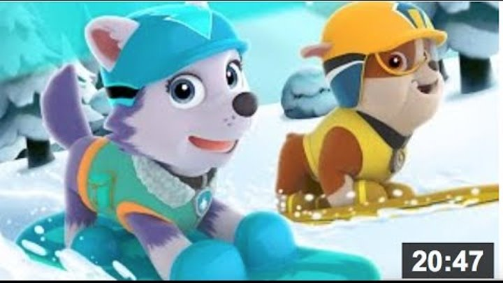 Щенячий Патруль игра.Paw Patrol Full Episodes.Paw Patrol Cartoon Game.Nick JR English Games.