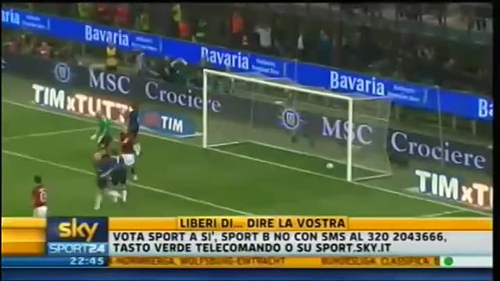 Milan - Inter 3-0 - Highlights Sintesi Sky Sport 24 - 02-04-2011 - 31^ giornata serie A - HQ