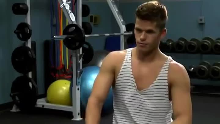 Working Out With Teen Wolf.mp4