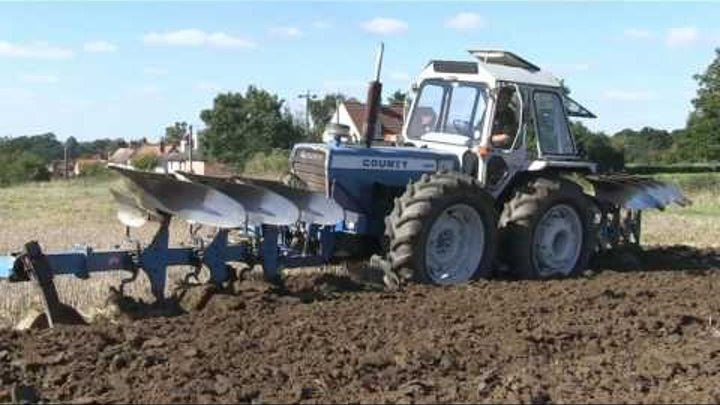 TWO COUNTY 1184TW AND PUSH-PULL PLOUGHS