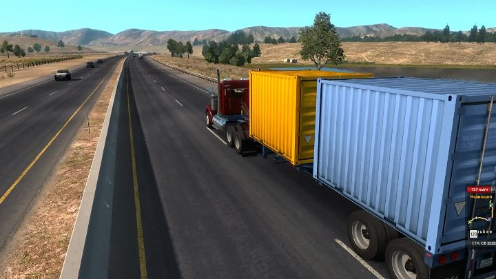 American Truck Simulator | Карьера | Carson City - Lakeview
