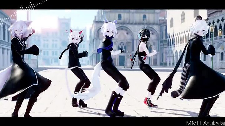 【MMD x POK】The Middle『Happy New Year 2019! (Thailand Time)』