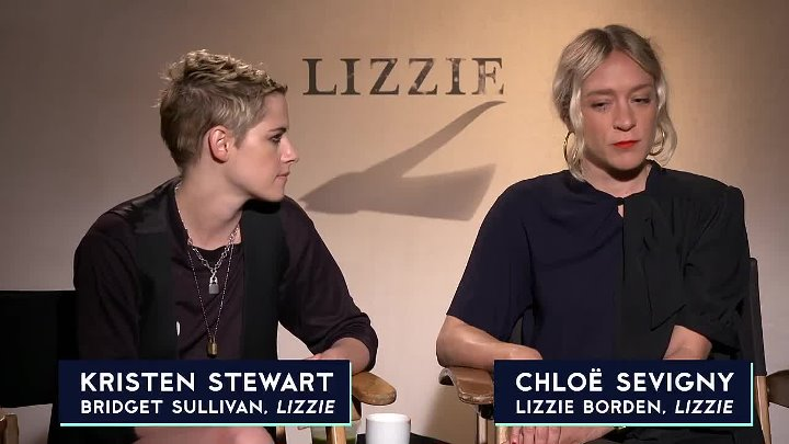 The A.V. Club - Kristen Stewart and Chloë Sevigny talk Lizzie, and resisting the status quo