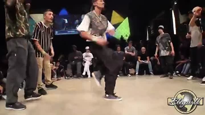 FUNK FOCKERS vs TOP SIDE TECHNICS (HIP OPSESSION 11 Final) WWW.BBOYWORLD.COM
