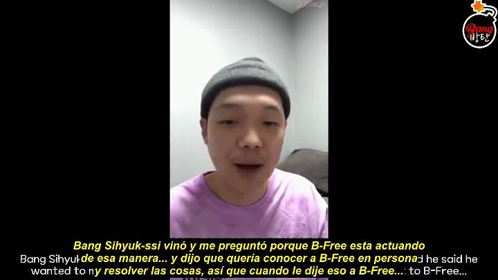 [Sub Español] Paloalto talks about B-FREEBTS issue; Talks about B-FREE's Behavior