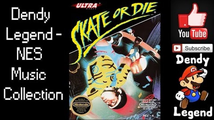 Skate or Die! NES Music Song Soundtrack - Score Section [HQ] High Quality Music