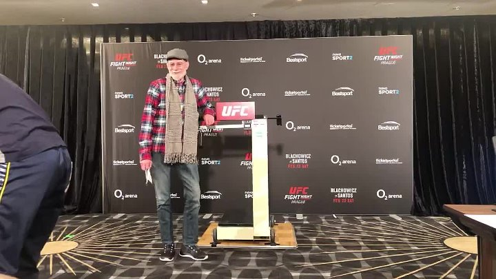 UFC Prague Official Weigh-Ins