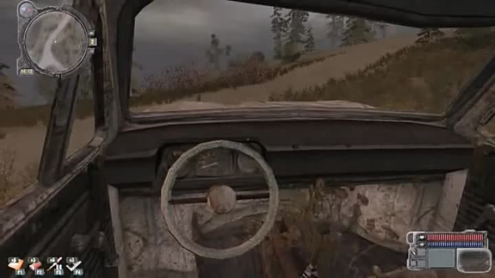 Stalker Call Of Pripyat car mod запорожец ЗАЗ 968М