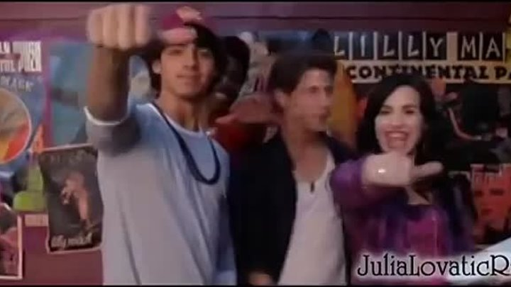 Camp Rock 2 Bloopers (Russian language)