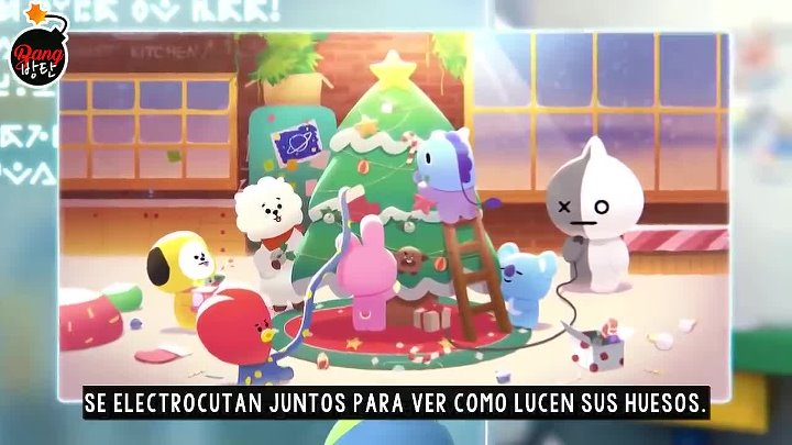 [SUB ESPAÑOL] BT21 Happy UNIVERSTAR Holidays TATA's MAIL