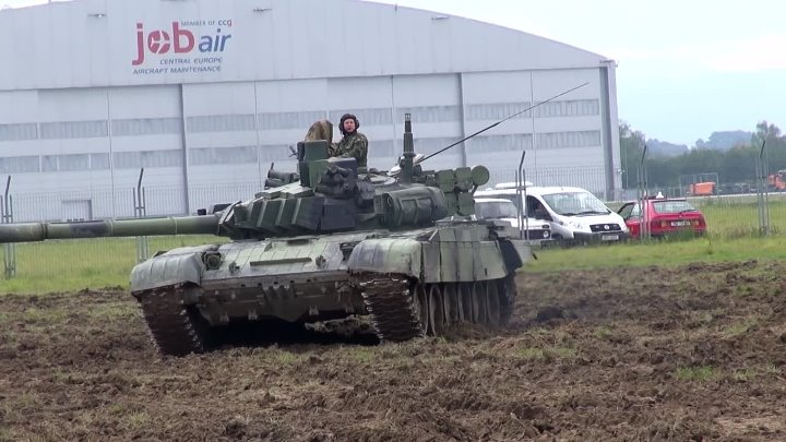 Tank T72 in Action $5,200,000