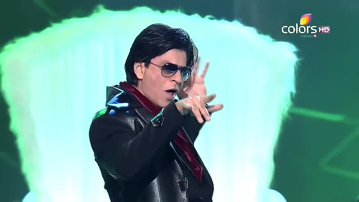 SRK perf songs from Don 2 & RA One Apsara Awards 2012 11th March