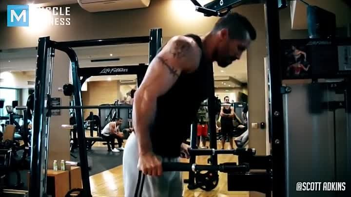 Boyka Workout for Undisputed - Scott Adkins Muscle Madness