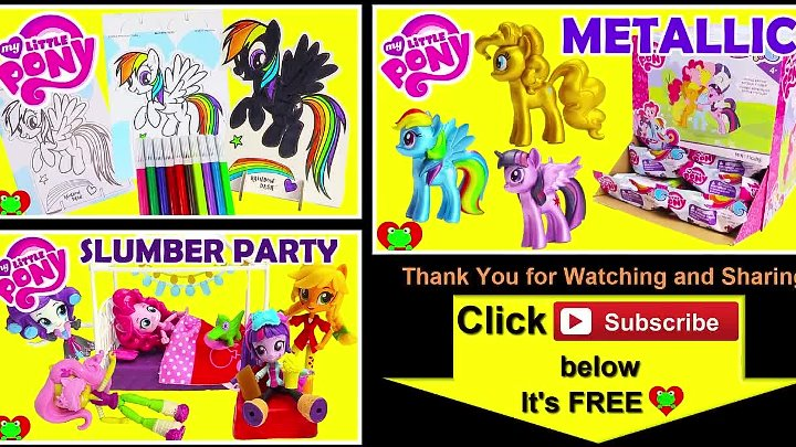 My Little Pony Jelly Beans Surprises Pinkie Pie, Twilight, and Rainbow Dash