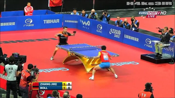 China-The extreme table tennis team