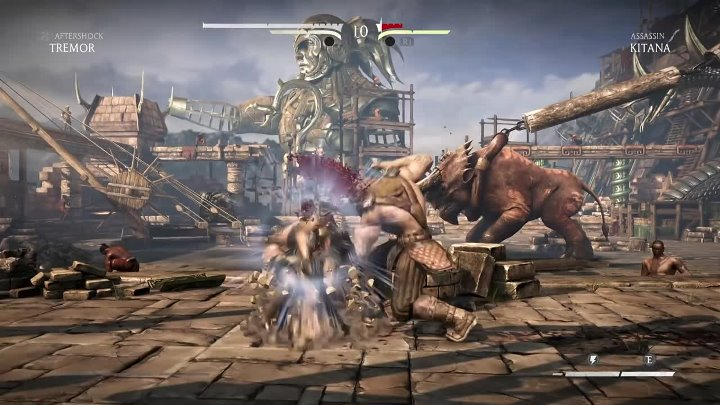 MKX Tremor Fatality Brutality Gameplay Mortal Kombat X Tremor ALL Fatalities Brutalities