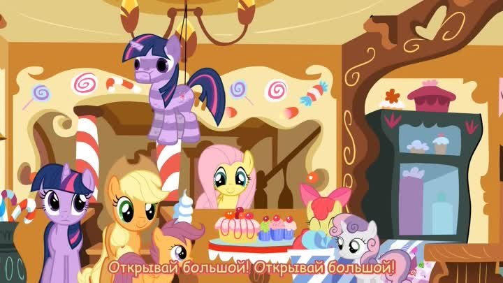 [RUS Sub] MLP: Sorry I Couldn't Be There For You - Русские субтитры
