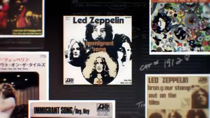 Led Zeppelin - Whole Lotta Love ( backing ) -1969 / Immigrant Song -1970
