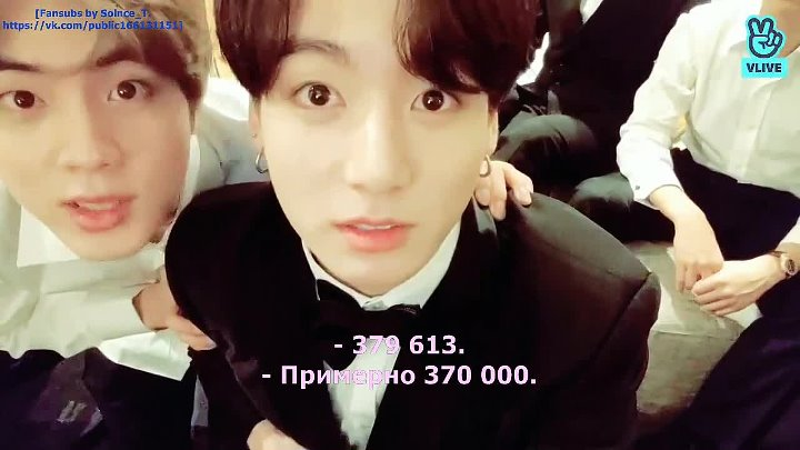 [11.02.2019] BTS: and the t ht g gg gram... [RUS SUB]
