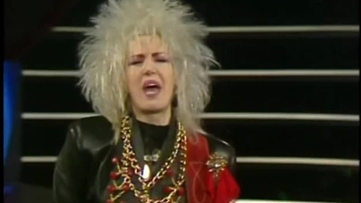 Spagna - I wanna be your wife (1988 Belgian Television)