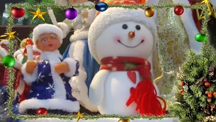 Merry Christmas & Happy New Year Greetings video ecard 2
