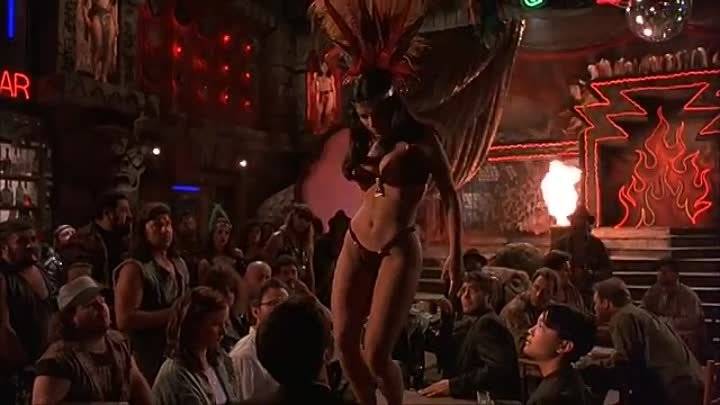Salma Hayek Dancing in From Dusk Till Dawn Santanico Pandemonium
