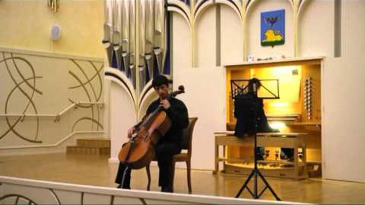 Max Bruch Ave Maria op. 61 for cello and organ / Макс Брух Аве Мария