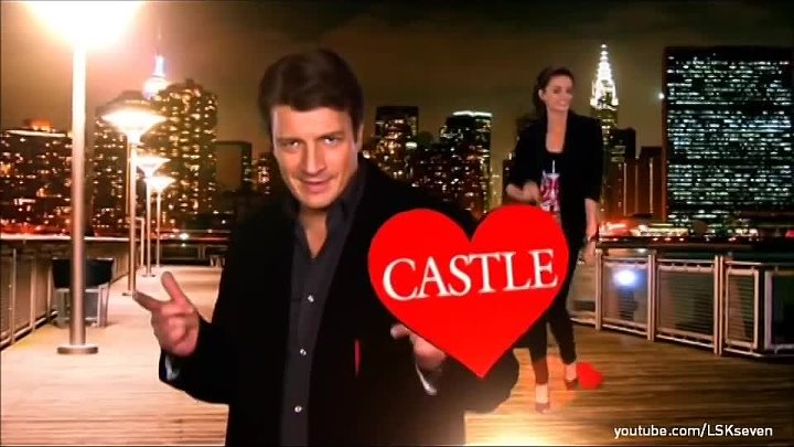 Castle 2012- Nathan Fillion & Stana Katic Dancing - Channel 7 Promo