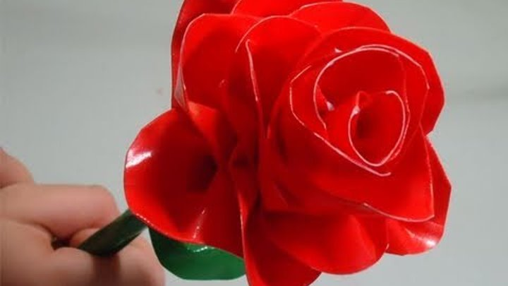 Craft: Make a realistic duct tape rose - EP 410