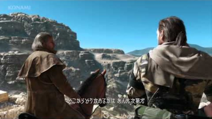 Metal Gear Solid 5 The Phantom Pain ТРЕЙЛЕР RED BAND) TGS 2013