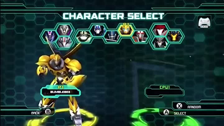 Transformers Prime- The Game - Bumblebee Vs. Knock Out