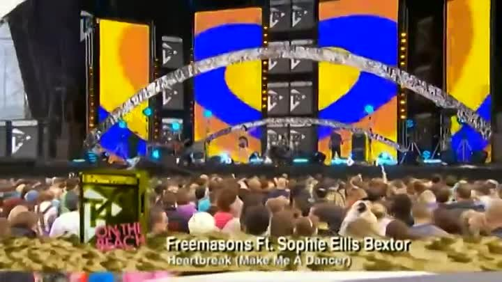 [HD] Sophie Ellis Bextor - Heartbreak (Make Me A Dancer) (T4OTB 2009).webm