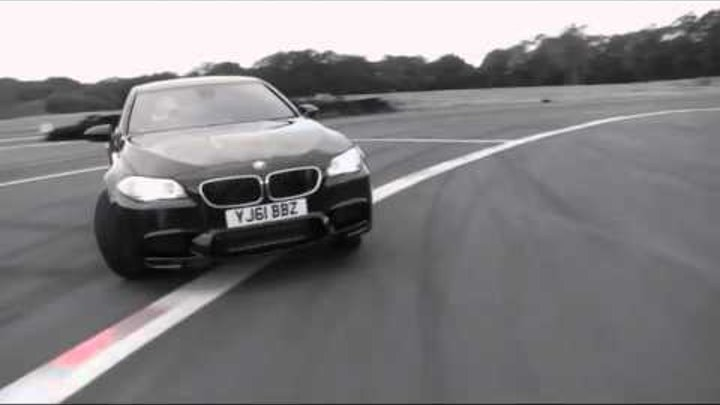 The All-New 2012 BMW M5 Meets The Stig