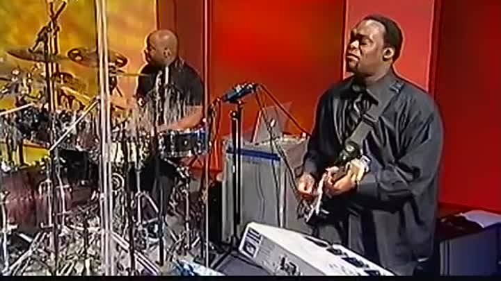 Byron Cage Karen Clark-Sheard and Pastor Marvin L. Winans singing _Lord You Are My Everything_