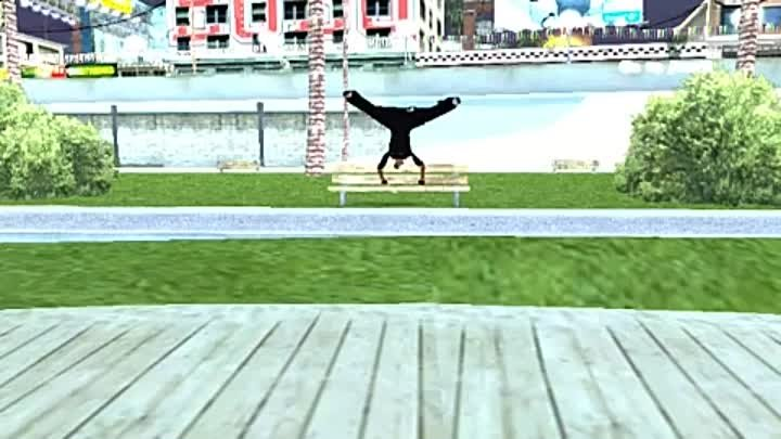 Gta sa Parkour and free running showreel 2010