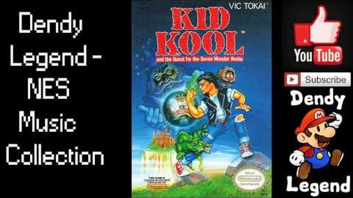 Kid Kool NES Music Song OST Soundtrack - Track 11 [HQ] High Quality Music