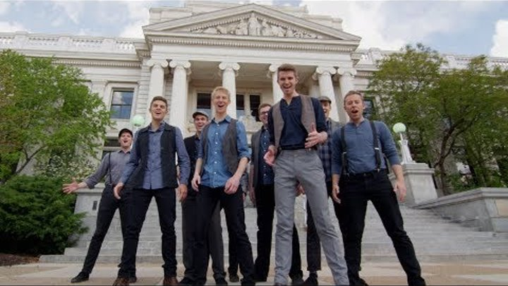 Newsies Medley — One-Shot A Cappella Tribute in 4K! (BYU Vocal Point Cover)
