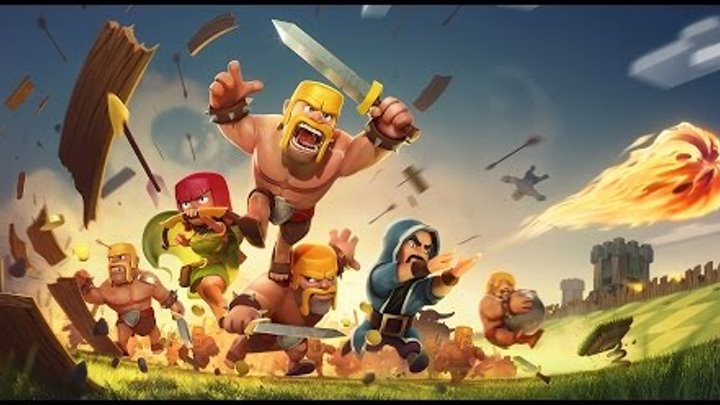 Играем в игру :clash of clans #4(две победы)