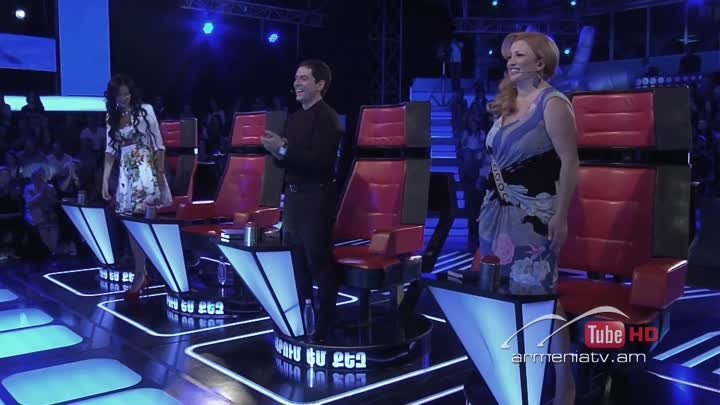 Aram MP3,This is a Man's World -- The Voice of Armenia – The Blind Auditions – Season 3