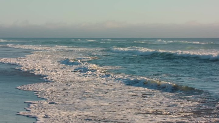 4K 60fps Evening Ocean Waves - Short Preview of 4K Nature Relax Video for Deep Sleep and Chill Out
