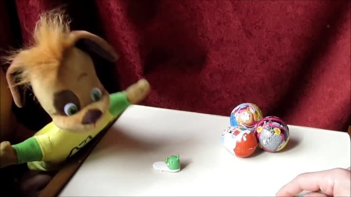 Angry Birds Surprise Egg and Puppet. Барбоскины и Энгри Бёрдс. Люляби TV. Lulaby TV