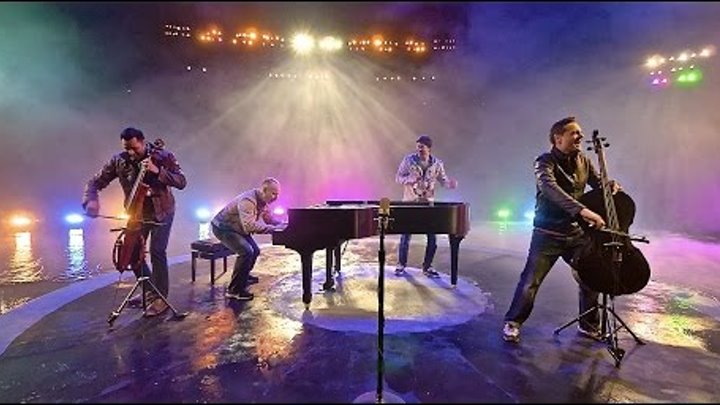 Ants Marching/Ode To Joy - 4 Guys, 3 min, 2 cellos, 1 piano - ThePianoGuys