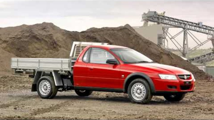 Holden One Tonner Cross 6 VZ '2005