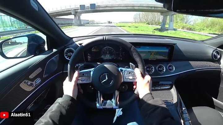 2019_2020 Mercedes-AMG GT 63 S 4 Door Coupe 4Matic Test Drive _ POV Autobahn