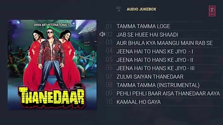 Thanedaar (1990) Hindi Movie Full Album (Audio) Jukebox _ Sanjay Dutt, Madhuri D