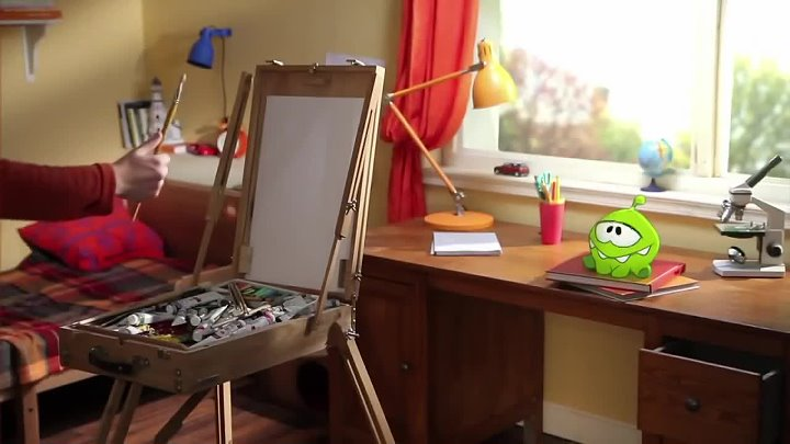 Om Nom Stories- Arts and Crafts (Episode 7, Cut the Rope)