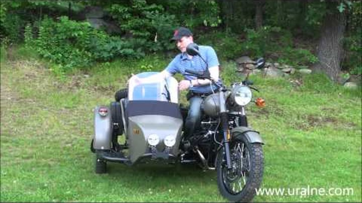 2014 Ural Retro M70 Olive Green Custom, at Ural of New England Boxborough MA