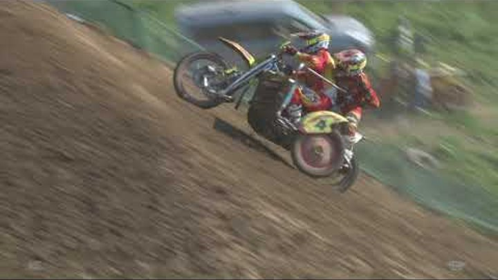 Sidecarcross -round 4 - Chernivtsi - X sport - re-live qualification race