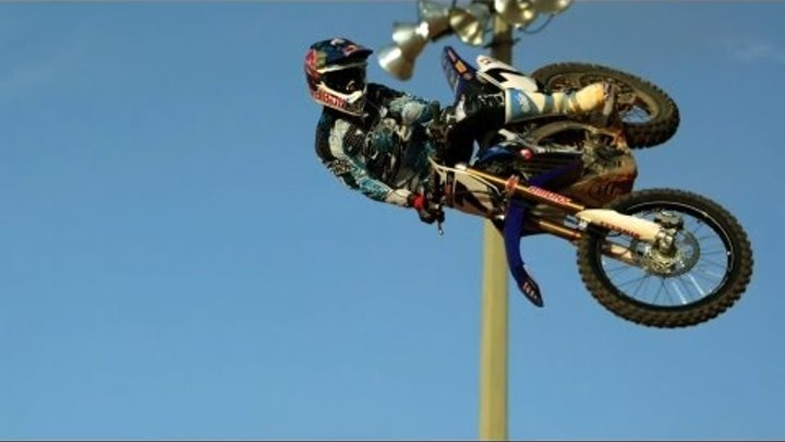 James Stewart Supercross Slo-Mo Whip - Red Bull Moments